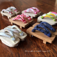 Geta Shoes for 1/6 Size Dolls  1/6ドール用下駄